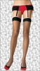 Plus Size Sheer Stockings for Garters