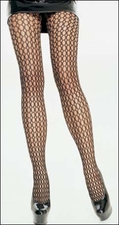 Pot Hole Crochet Tights