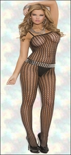 Queen Bodystocking Crochet Net