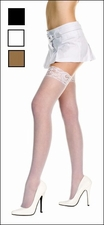 Queen Size Stockings with Lace Tops