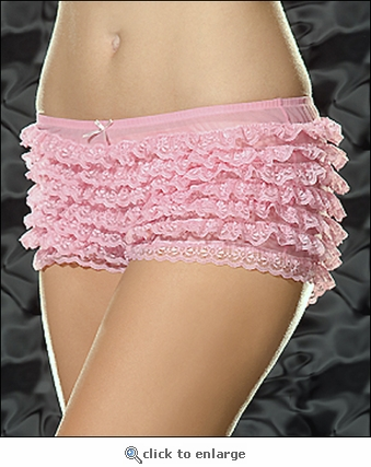 Ruffled Panties Sheer