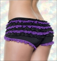 Ruffled Panty Two Tone Boyshort #9091