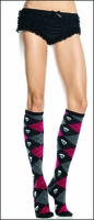 Skull Knee Highs