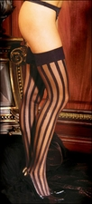 Stockings with Stripes