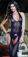 Suspender Bodystocking Pattened Crochet