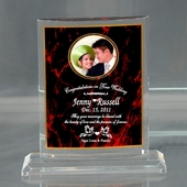 Curvature Plaque w. Photo  AWD924-CUP
