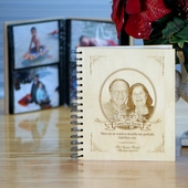 Engraved Photo Album