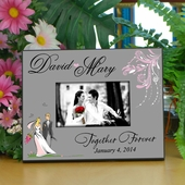 """Forever"" Personalized Wedding Frame"