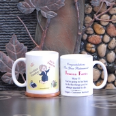 'Goodbye Tension' Personalized Retirement Mug for Her