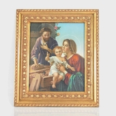 Italian Holy Family Print and Frame