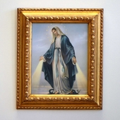 Italian Lady of Grace Print and Frame