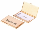 Maple Wood Personalized Business Cardholder