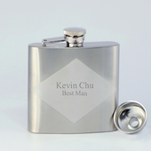 Personalized 5oz Hip Flask with Funnel