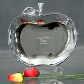 Personalized Apple Tray