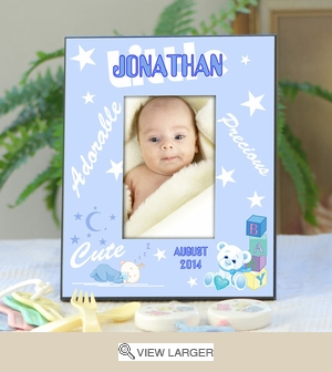 Personalized Baby Picture Frame for Boys