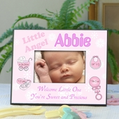 Personalized Baby Record Photo Frame