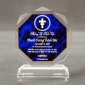 """Personalized Baptism Gift - Size 5""""W x 5.5""""H x 2""""D"""