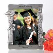 Personalized Graduation Pewter Photo Frame