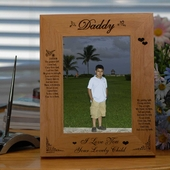 Personalized Greatest Gift Wood Picture Frame