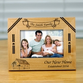 Personalized 'Our New Home' Frame