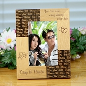 Personalized Romantic Vietnamese Frame
