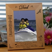 Personalized 'Special Dad' Wooden Picture Frame