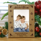Personalized Special Wood Christmas Frame