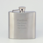 Personalized Stainless Steel Verse Flask