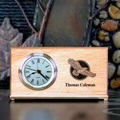 Personalized Thank You Clock