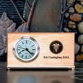 Personalized Thank You Clock with Dentist Logo