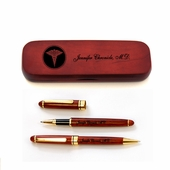 Personalized Thank You Pen Set with Medical Logo
