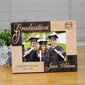 Personalized Two Tone Wooden Graduation Frame