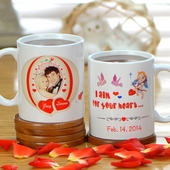 Personalized Valentine Mugs