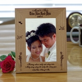 Romatic Wedding Picture Frame
