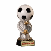 Soccer Encore Resin Trophies