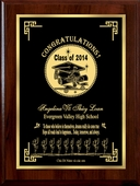 'The Road to Happiness' Personalized Graduation Plaque