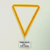 Viet Nam Flag Ribbons