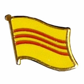 Vietnam Flag Pins