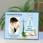Vietnamese Personalized Confirmation Picture Frame