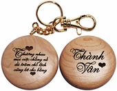 VN Love Poem Key Chain