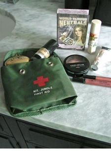 "*ONLY 1 LEFT!*  ""It's A Jungle Out There"" Jungle First Aid Kit (Or, ""Concrete Jungle"" Cosmetic Kit)"