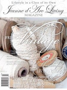 *SOLD OUT!!*  Jeanne d'Arc Living Magazine - March 2014