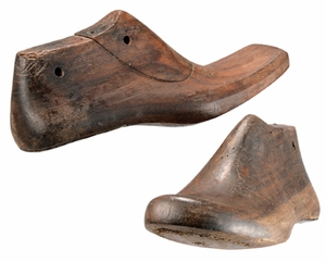 Pairs Of Vintage Wooden Cobbler's Forms