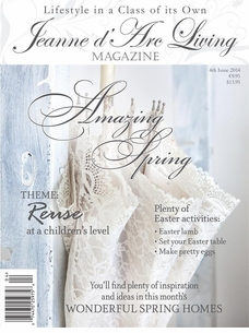 *PRE-ORDER*  Jeanne d'Arc Living Magazine - April 2014 Issue