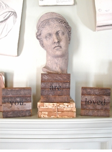 "Reclaimed Wood Wisdom:  ""You. Are. Loved."" Triptic"