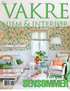 Vakre Hjem & Interior Magazine from Norway - Late Summer Issue