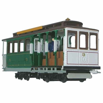 Bachmann HO Scale Green Cable Car