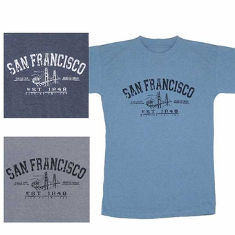 San Francisco Est.1848   Adult T-Shirt