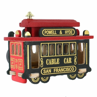 San Francisco Cable Car Souvenir 3 inch Magnet