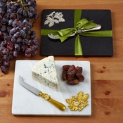 2 Pc Cheese Serving Set Includes Board And Knife - SPECIAL